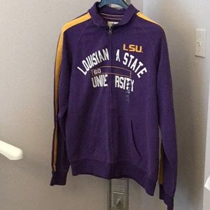 Other - LSU zip up sweater